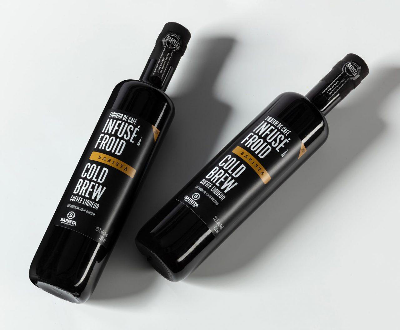 Barista Spirit packaging – Design d'étiquette de spiritueux -BRAND & DESIGN