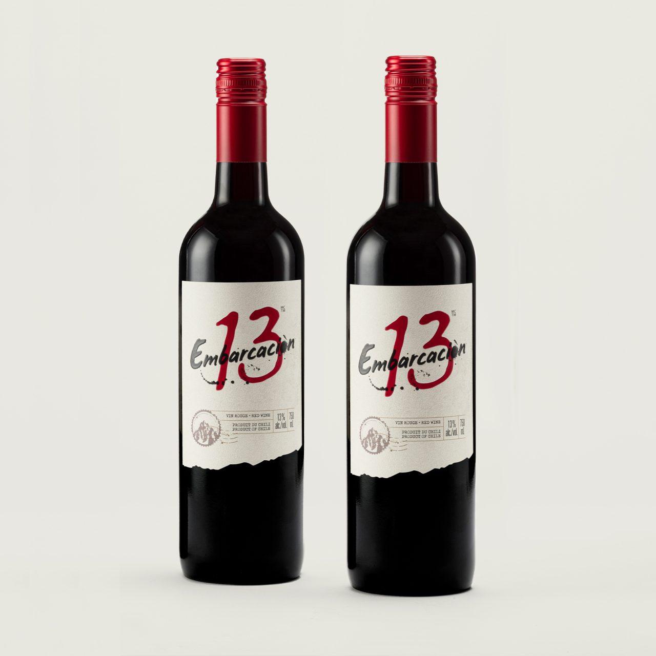 embarcacion wine packaging – Design d'étiquette de vin -BRAND & DESIGN