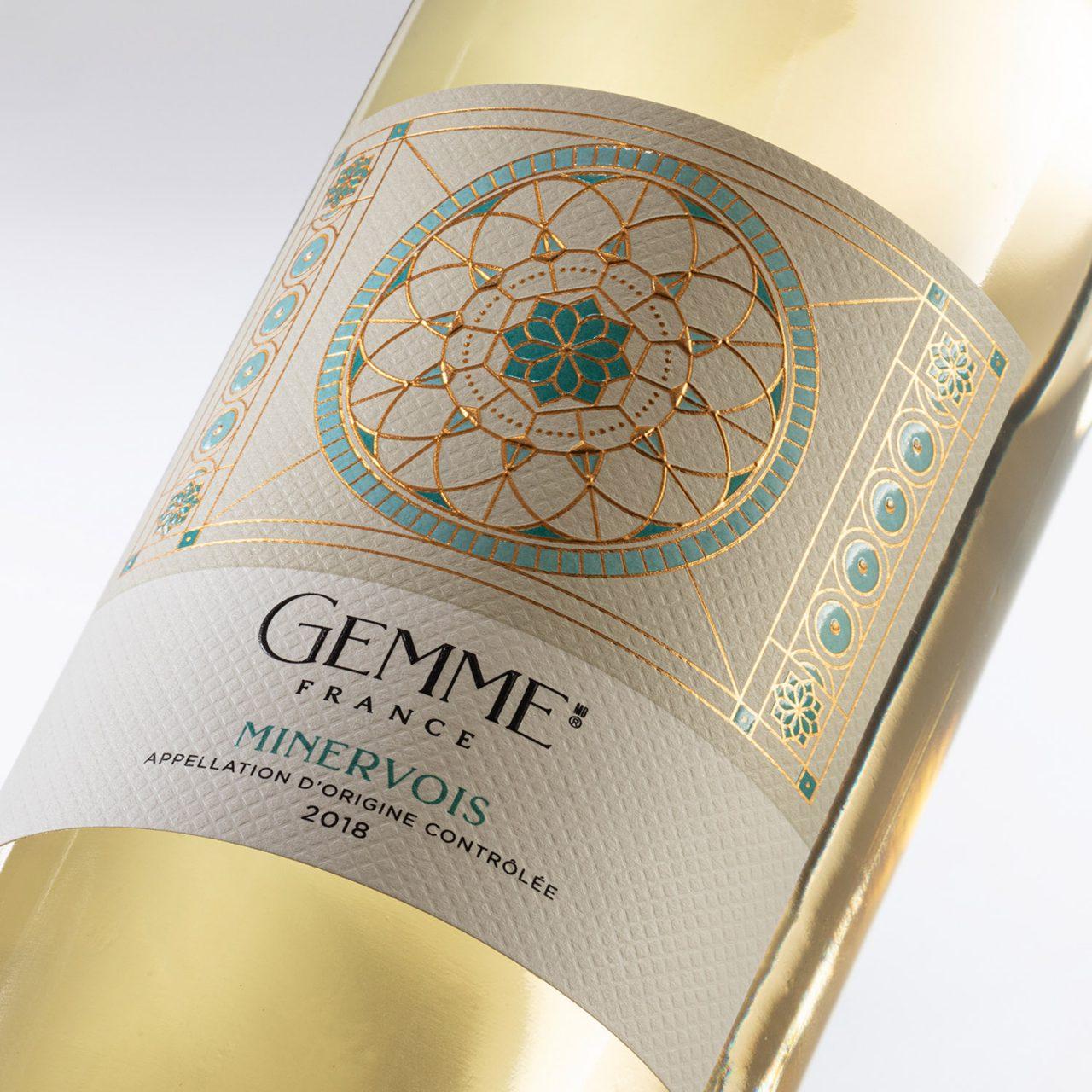 Gemme wine packaging – Design d'étiquette de vin -BRAND & DESIGN